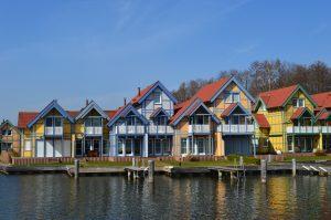 Ferienhaustypen im Hafendorf