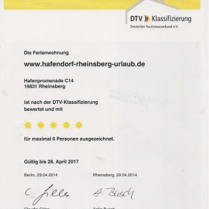 5 Sterne-Ferienhaus-DTV