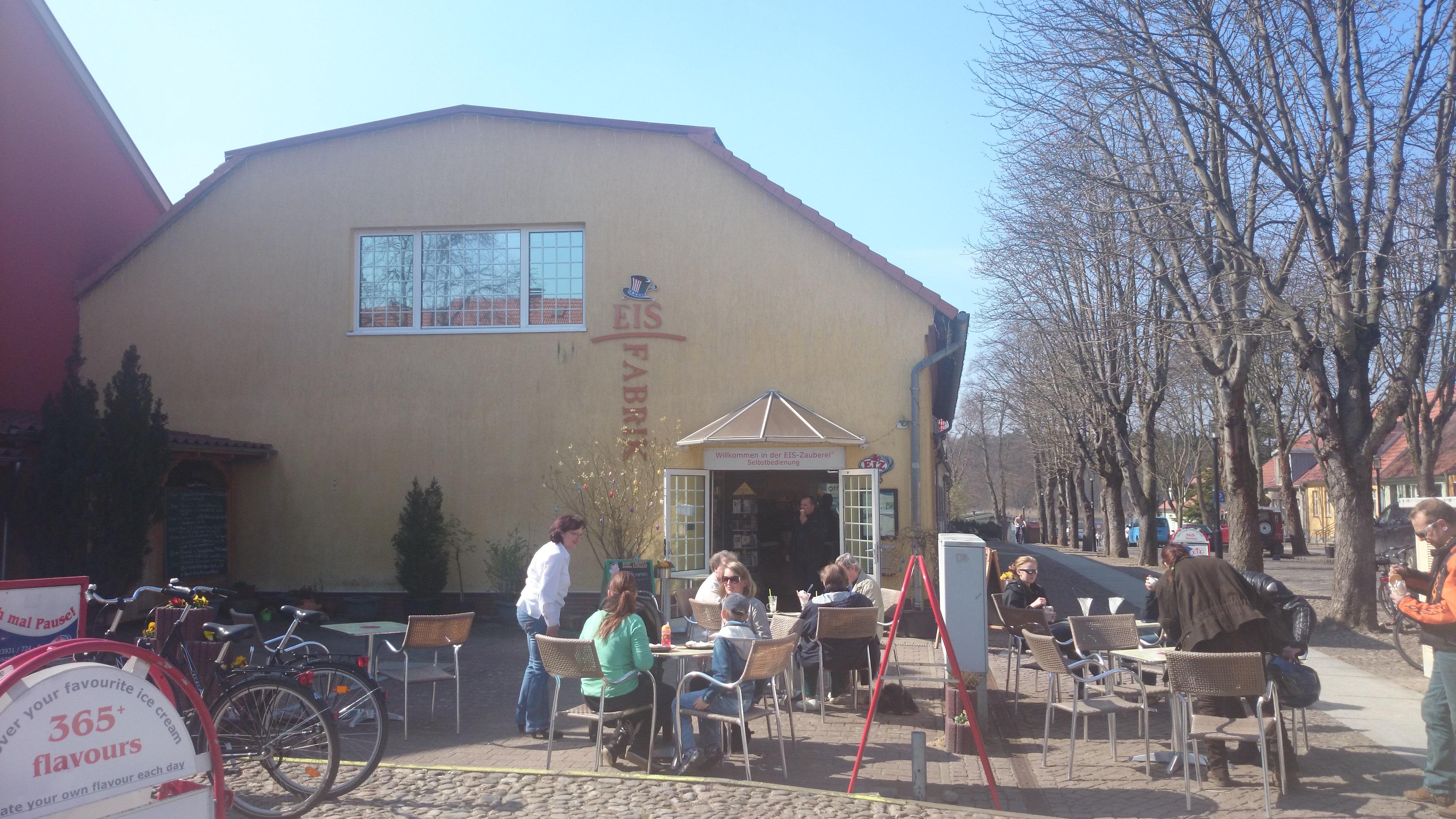 Eisdiele in Rheinsberg