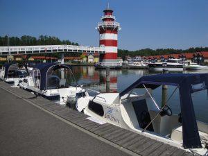 Bootscharter im Hafendorf-Rheinsberg