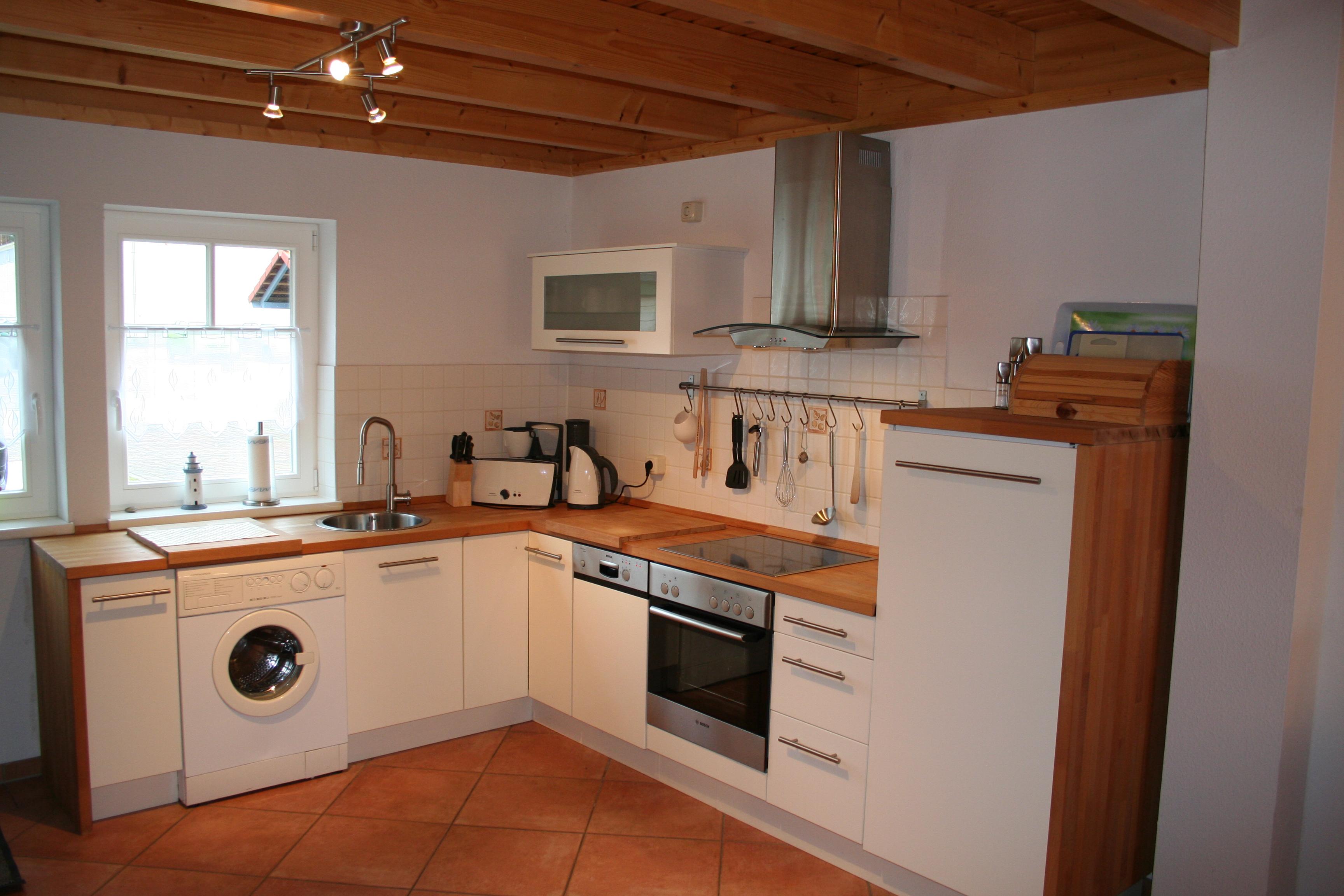 Küche im Ferienhaus Rheinsberg